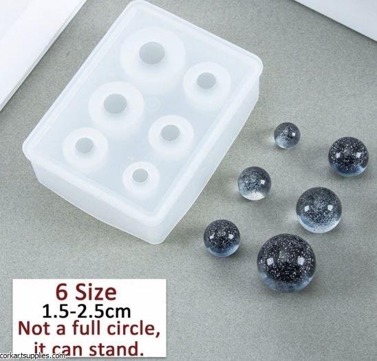 CAS Silicone Crystal Ball Mold