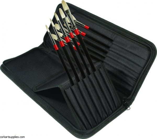 Georgian Brush Zip Case 10pk^