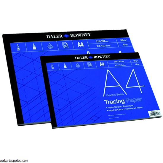 Tracing Pad A3 60gm Daler Rowney