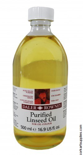 Daler Rowney 500ml Purified Linseed Oil