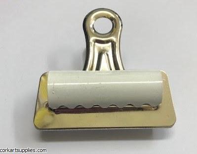 Bull Dog Clips 70mm White*
