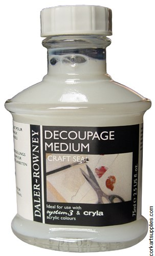 Daler Rowney 75ml Decoupage Medium