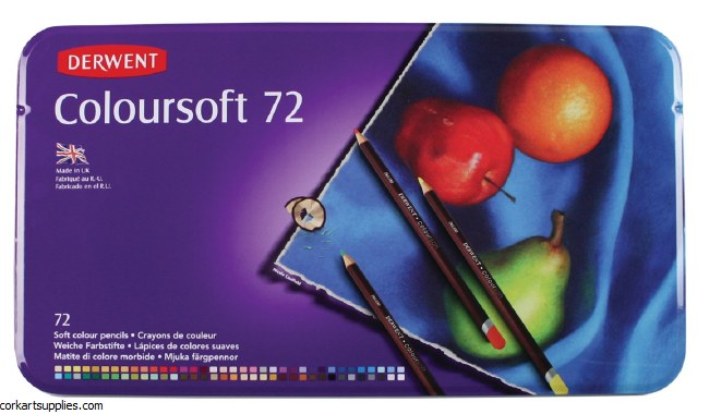 Derwent Coloursoft 72pk*