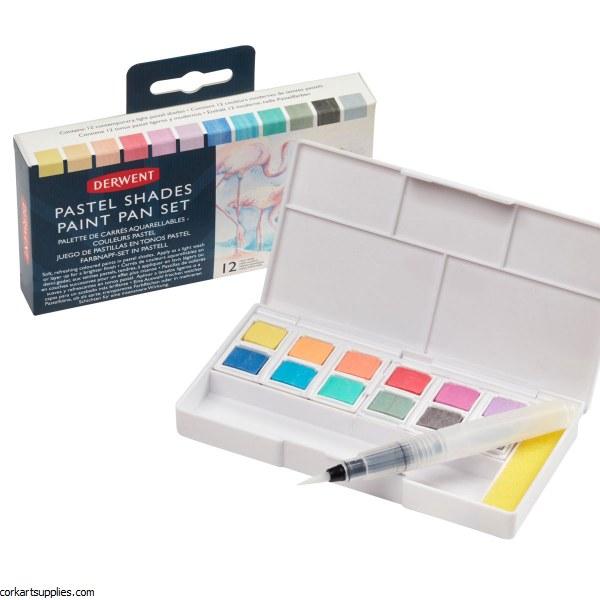 Inktense Pan Travel Box Pastel