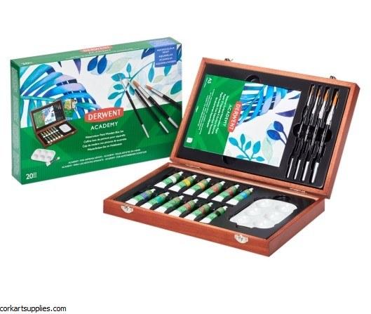 Derwent Watercolour Wood Box
