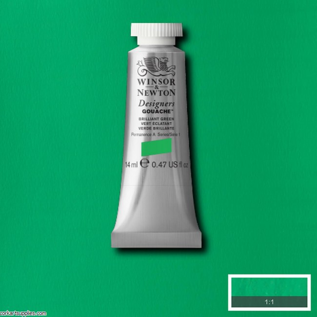 Designer Gouache 14ml Brilliant Green