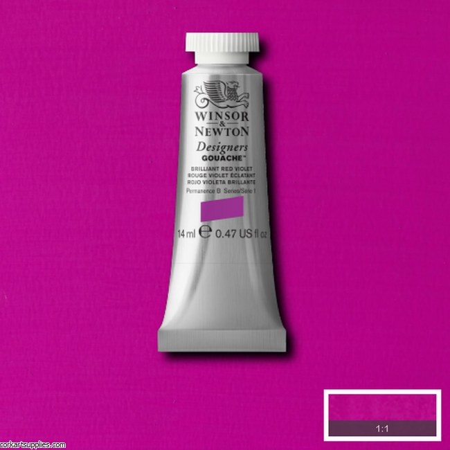 Designer Gouache 14ml Brilliant Red/Violet