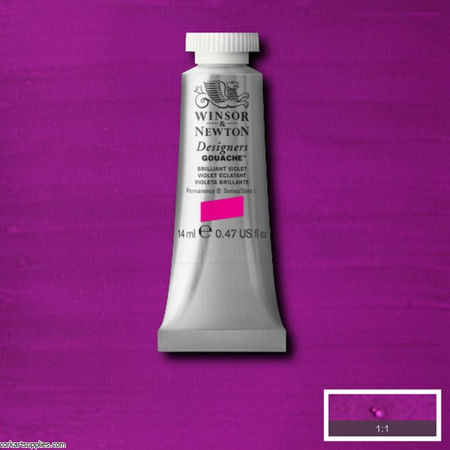 Designer Gouache 14ml Brilliant Violet