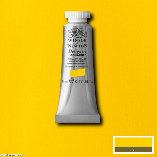 Designer Gouache 14ml Brilliant Yellow
