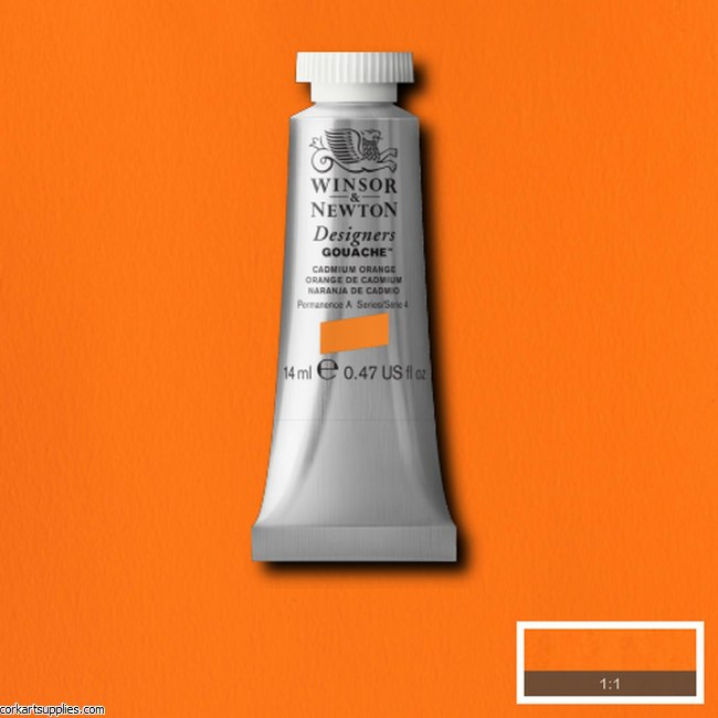 Designer Gouache 14ml Cadmium Orange