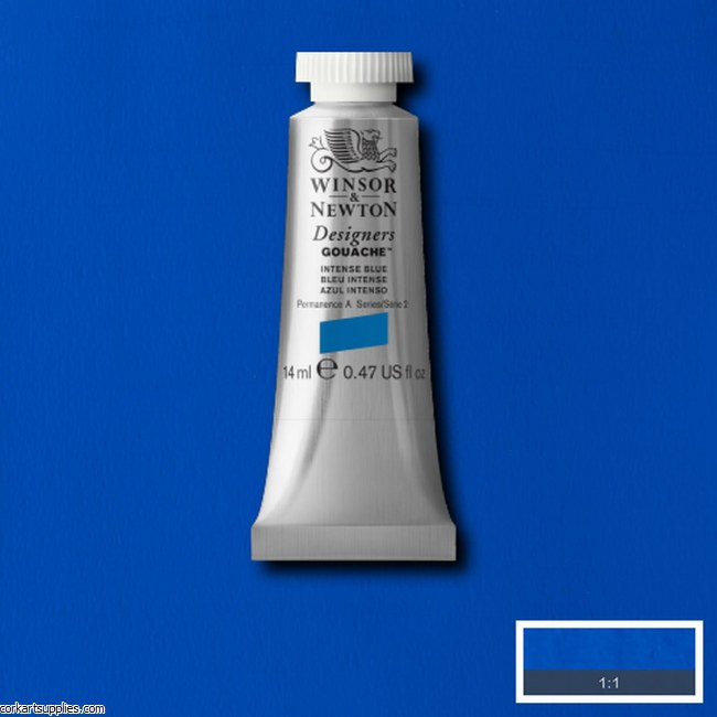 Designer Gouache 14ml Intense Blue