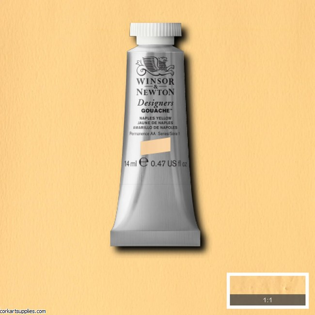 Designer Gouache 14ml Naples Yellow