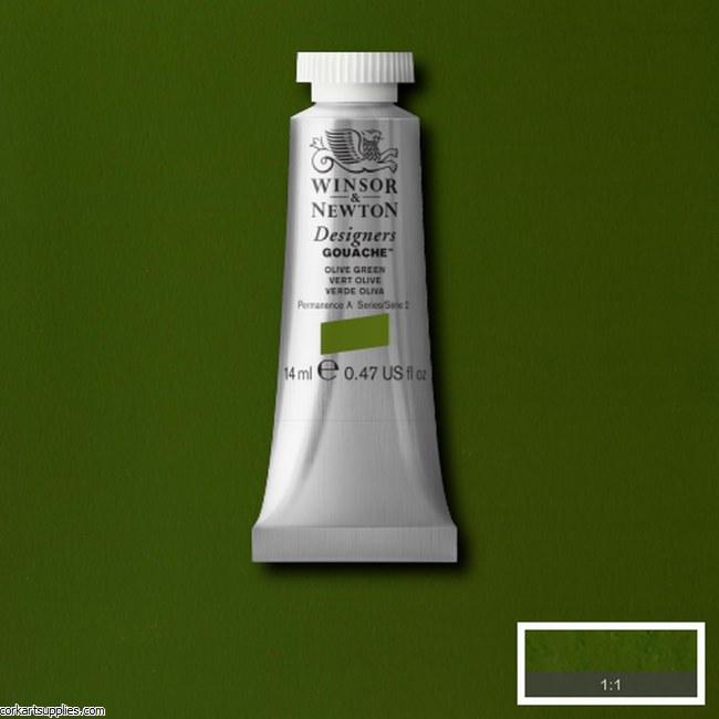 Designer Gouache 14ml Olive Green