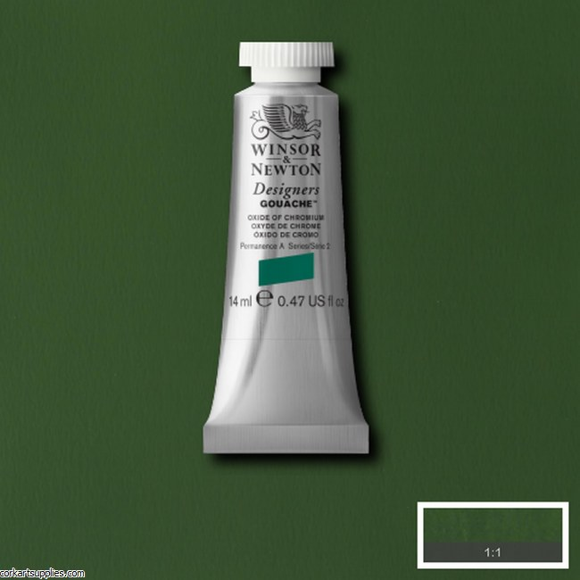 Designer Gouache 14ml Oxide Of Chromium