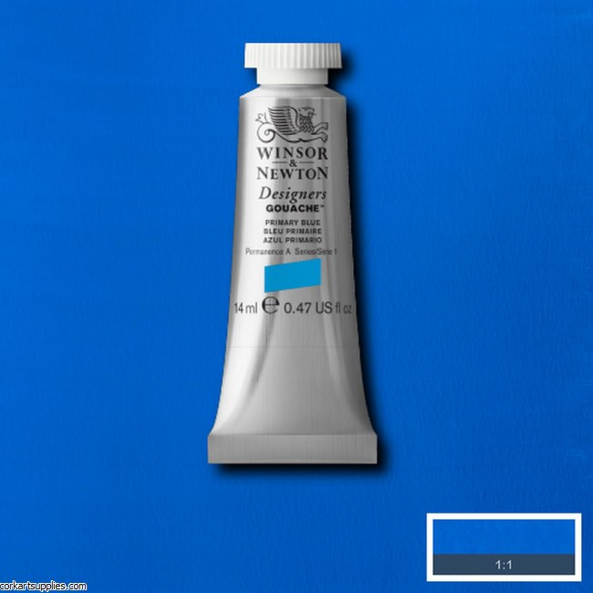 Designer Gouache 14ml Primary Blue