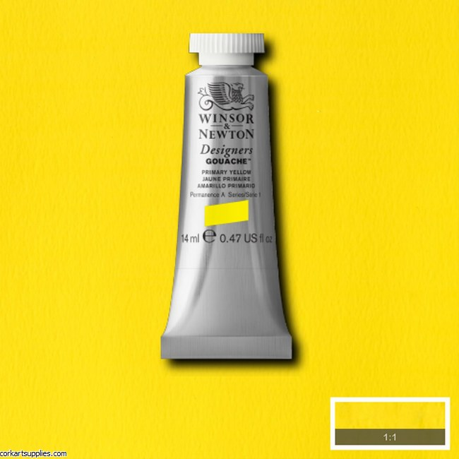 Designer Gouache 14ml Primary Yellow