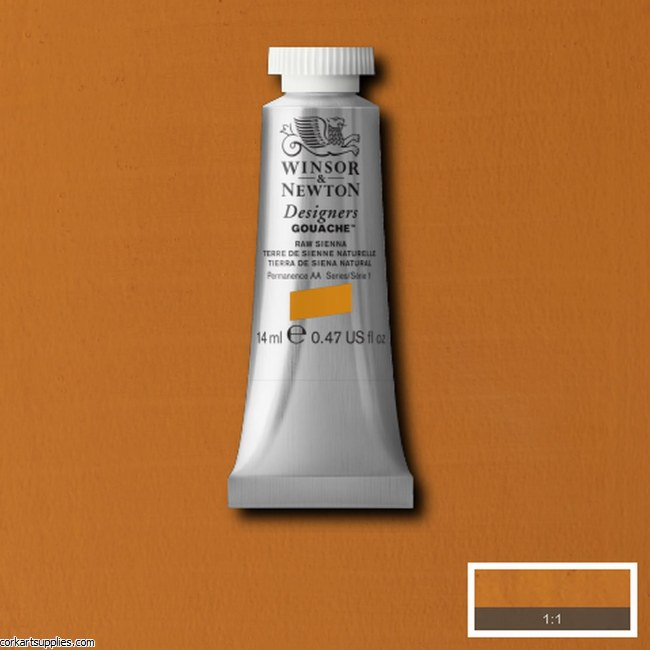 Designer Gouache 14ml Raw Sienna
