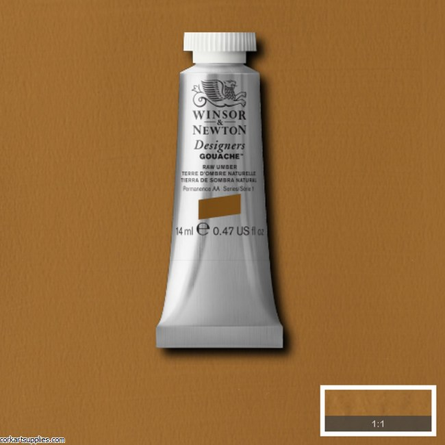 Designer Gouache 14ml Raw Umber