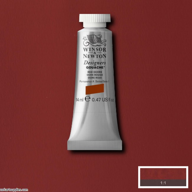 Designer Gouache 14ml Red Ochre