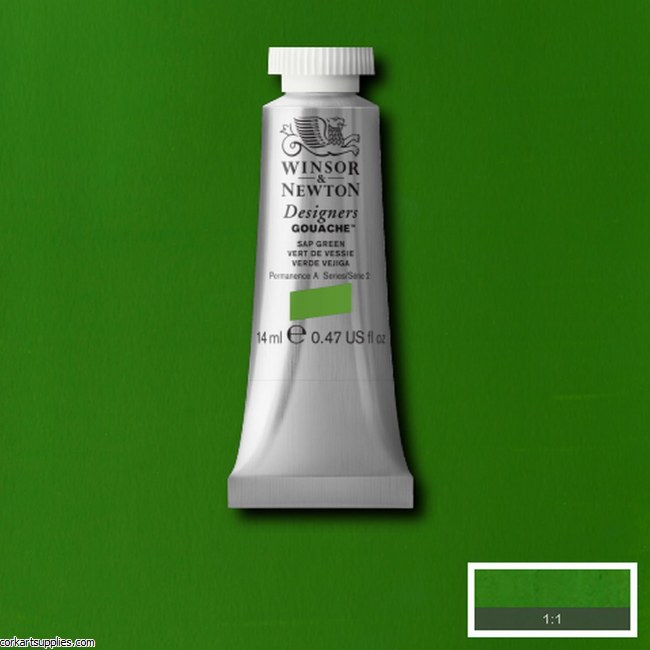 Designer Gouache 14ml Sap Green