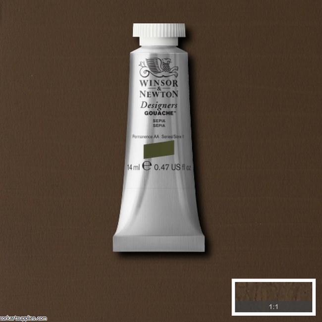 Designer Gouache 14ml Sepia