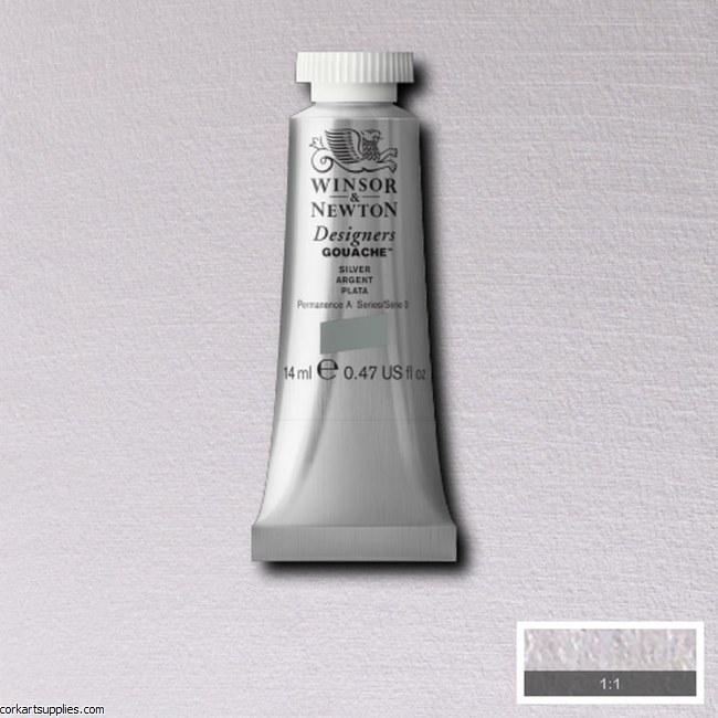 Designer Gouache 14ml Silver