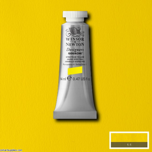 Designer Gouache 14ml Spectrum Yellow