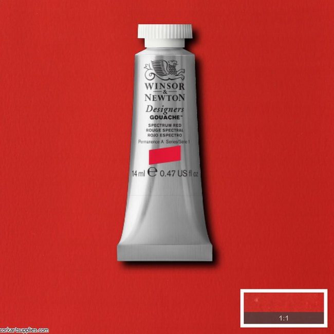 Designer Gouache 14ml Spectrum Red