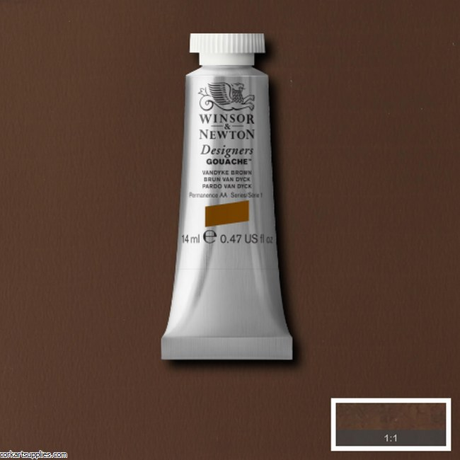 Designer Gouache 14ml Vandyke Brown