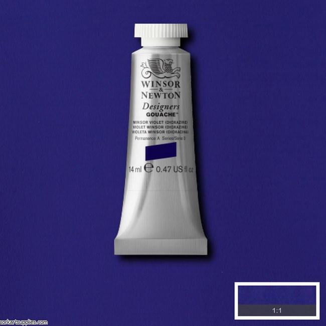 Designer Gouache 14ml Winsor Violet