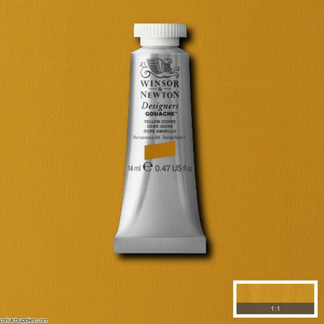 Designer Gouache 14ml Yellow Ochre