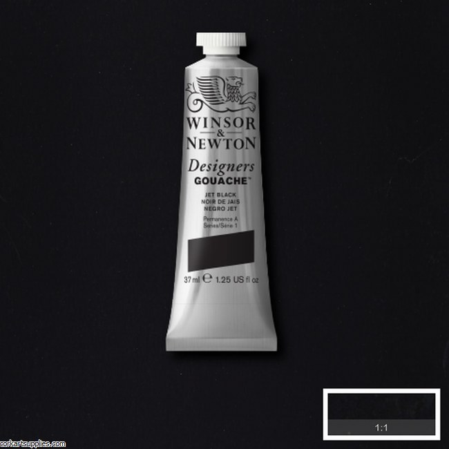 Designer Gouache 37ml Jet Black