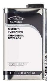 Winsor & Newton 1 Litre English Distilled Turpentine