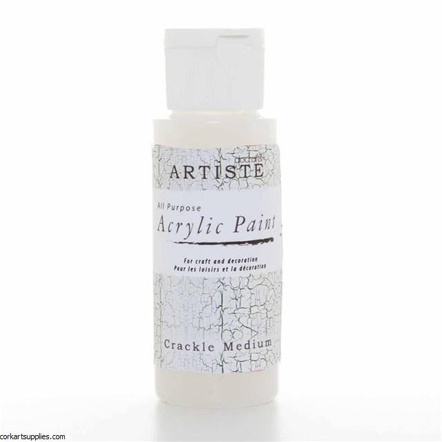 Acrylic 59ml Crackle Medium