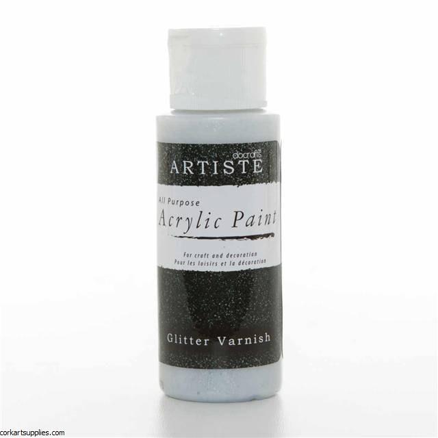 Acrylic 59ml Glitter Varnish