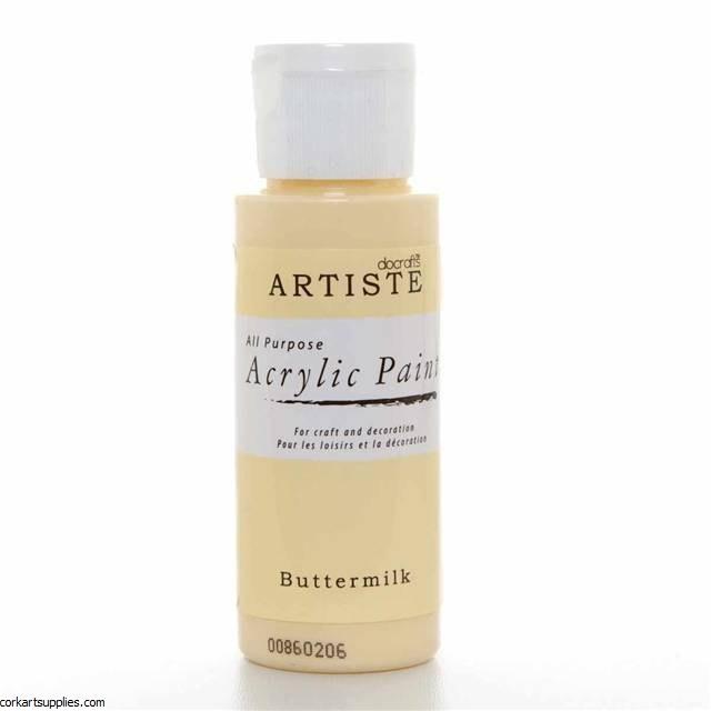Acrylic 59ml Buttermilk