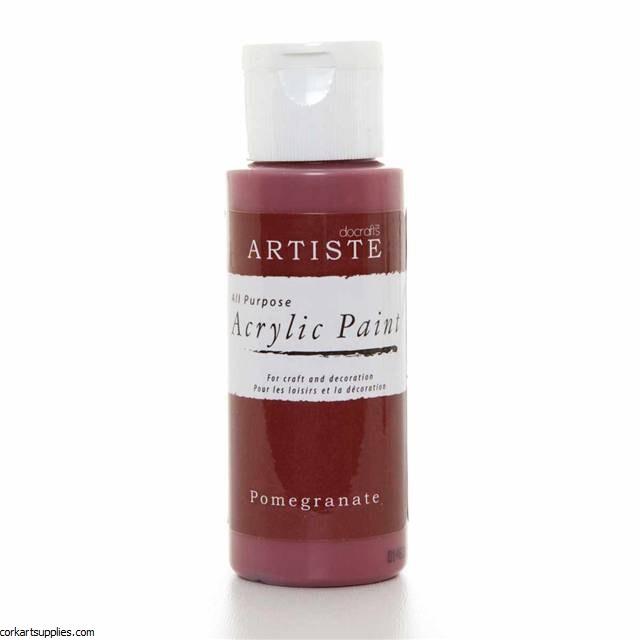 Acrylic 59ml Pomegranate