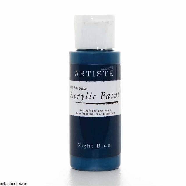 Acrylic 59ml Night Blue