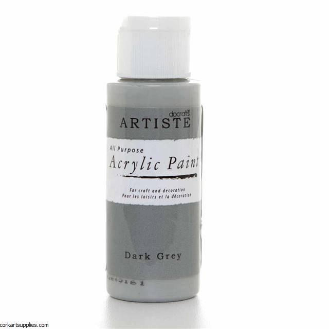 Acrylic 59ml Dark Grey