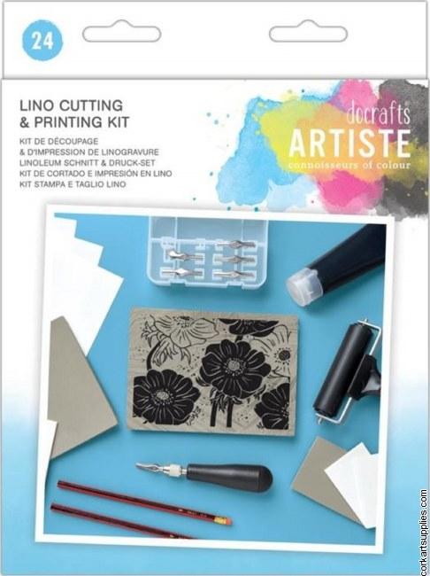 Docrafts Artiste Lino Cutting & Printing Kit