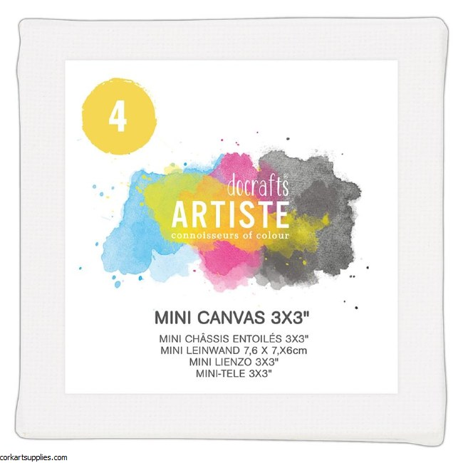 Docrafts Mini Canvas 3x3
