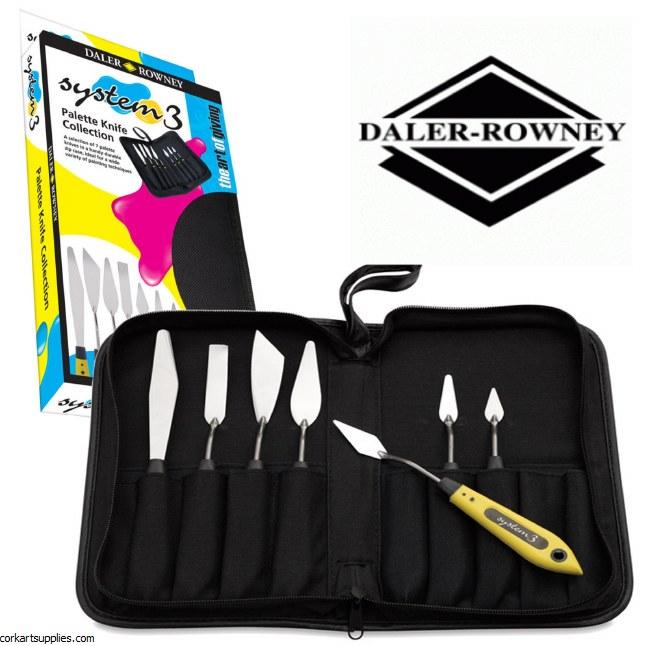System 3 Palette Knife 7pk^