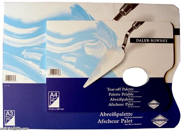 Palette Tear Off Acrylic DR A3