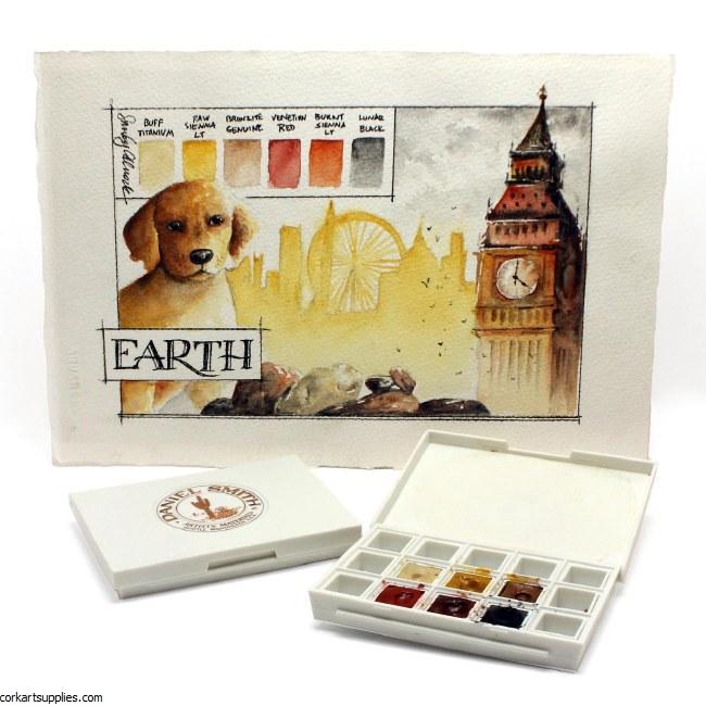 Daniel Smith Half Pans Earth