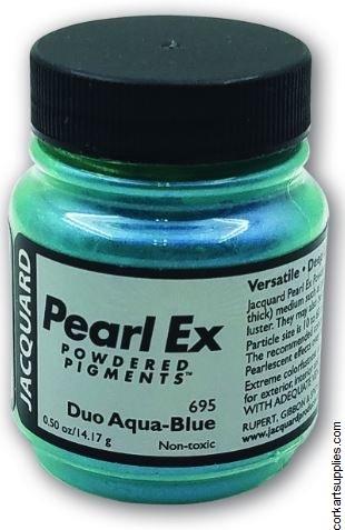 Pearl Ex Pigment 21g Aqua Blue
