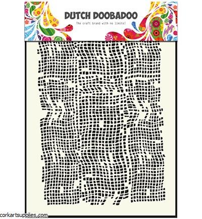Mask A5 Dutch Doobadoo Burlap