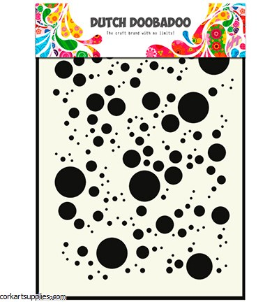 Dutch Doobadoo Mask Art A5 Bubbles