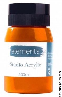 Elements Acrylic 500ml Cad Orange