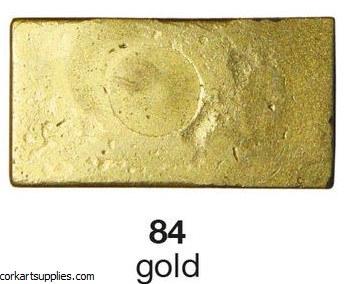 Encaustic 10g Wax Metallic Gold 84