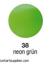 Encaustic 10g Wax Neon Green 38